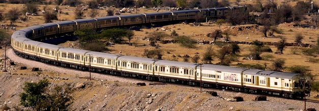 The Palace On Wheels is a luxury train