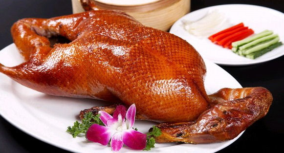Peking or Beijing Roast Duck is a highlight of dining out in Chinas Capital
