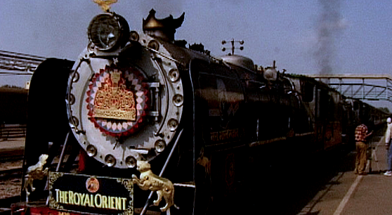 The Royal Orient is one of the luxury trains operating in India