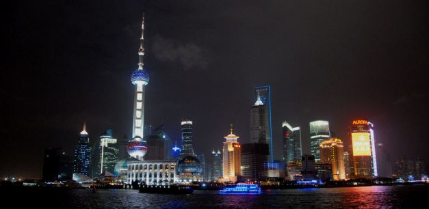 The Orient Pearl TV Tower contributes to Shanghais unique skyline