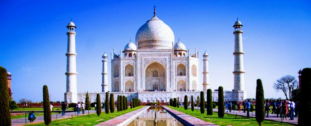 The Taj Mahal is the most iconic location in India