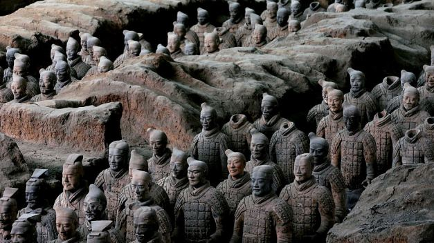 Xi'an became an internationally recognised name with the discovery of the incredible Terracotta Warriors