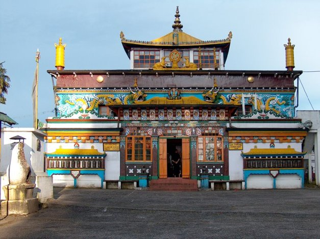 Tibetan Monastery at Ghoom