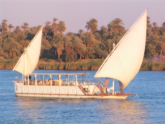 The Dhabeya is an alternative way to cruise the Nile